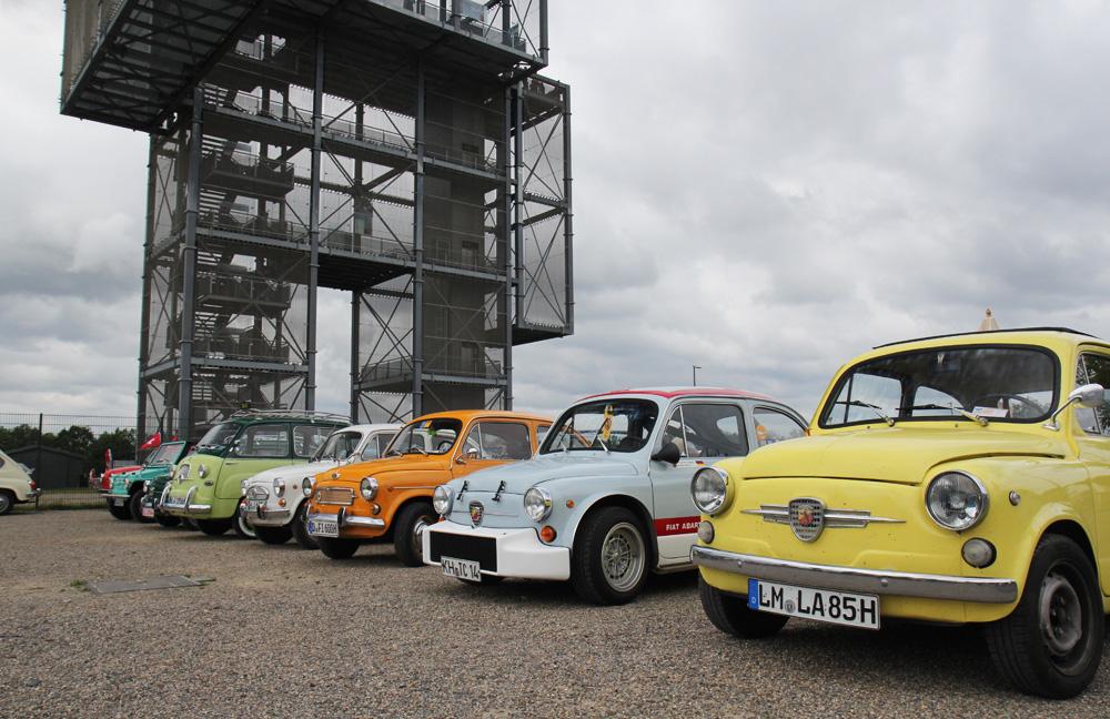 Der Große Indemann und die Fiat 600 Freunde.