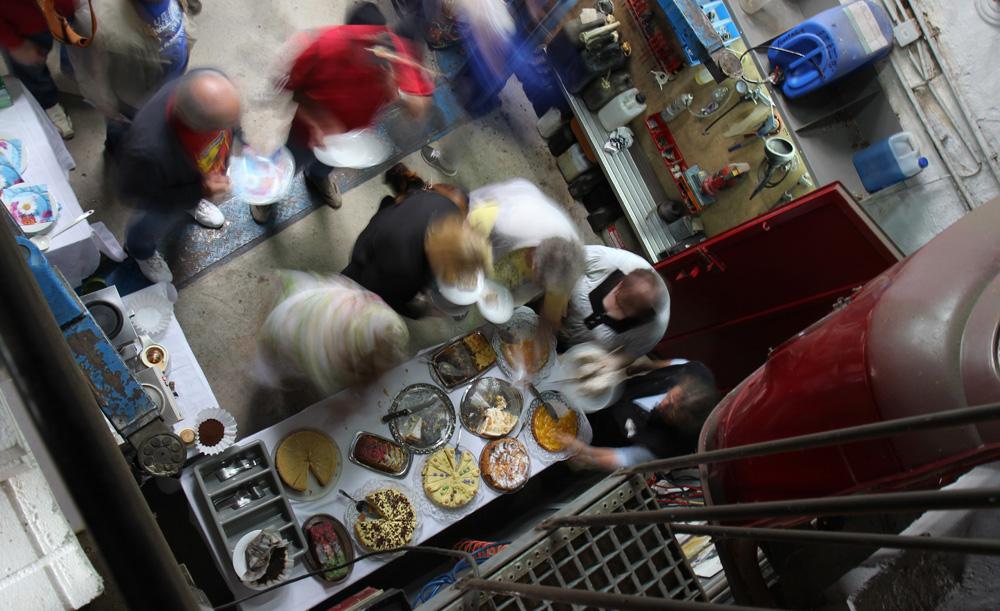 Leckersten Kuchen in Mannis Werkstatt