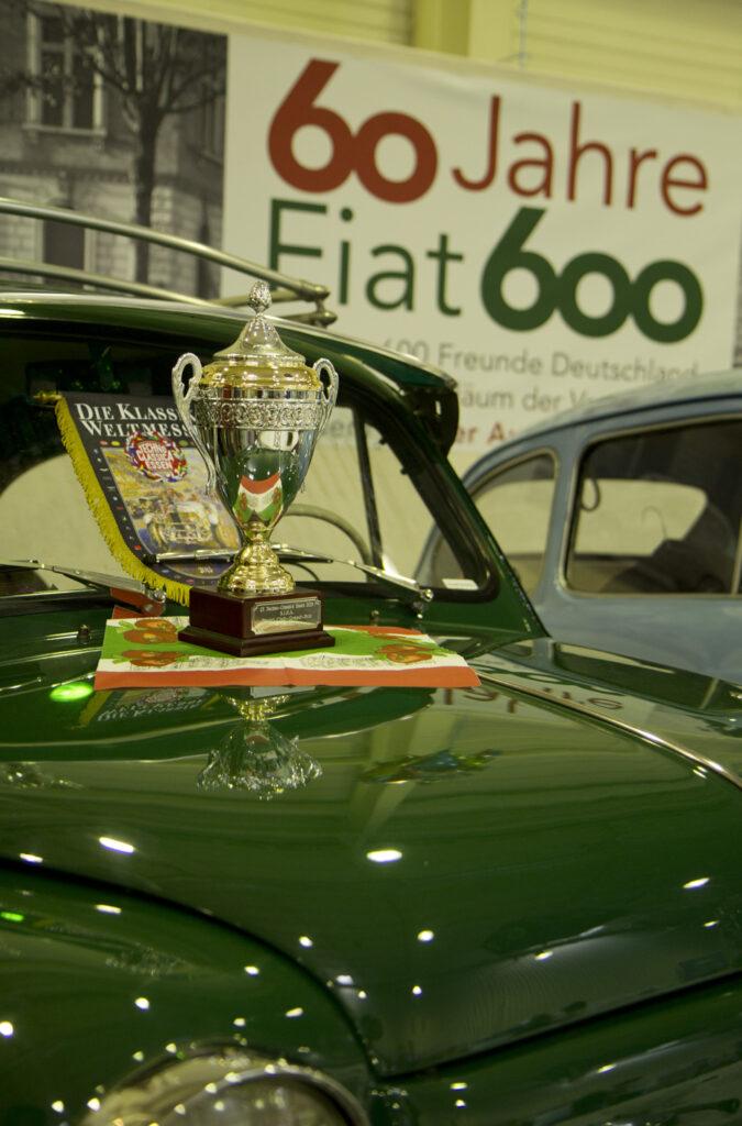 Die Fiat 600 Freunde erreichten einen verdienten 10. Platz in der Clubstandwertung 2015.